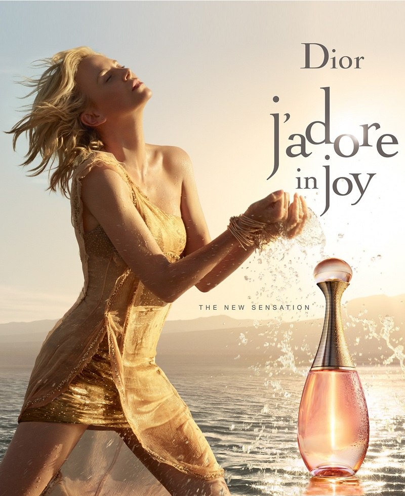 Charlize Theron stars in Dior J'adore Injoy fragrance campaign