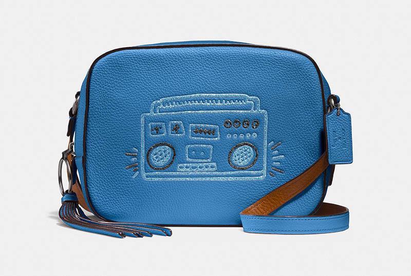 Coach x Keith Haring Camera Bag $275