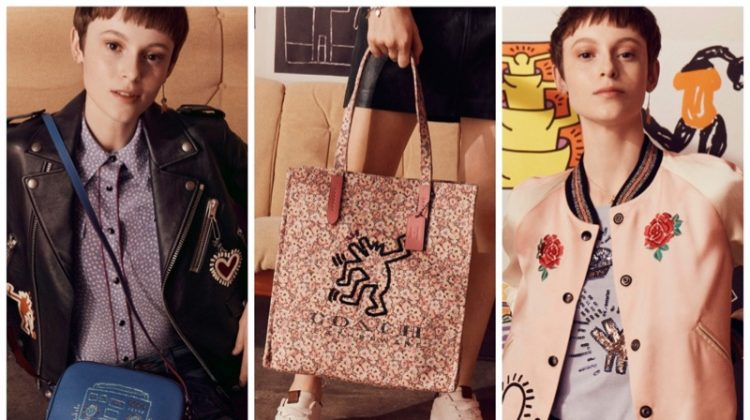 Just In: Coach x Keith Haring's Arty Collaboration