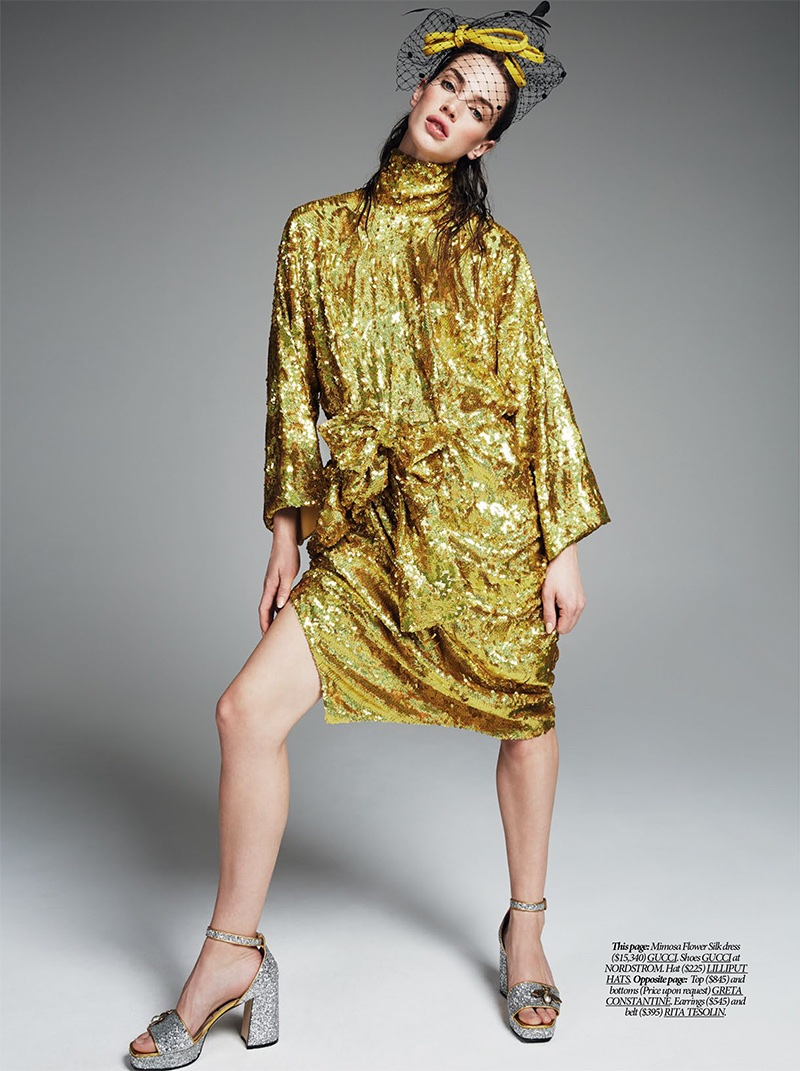 Crista Cober Models Bold Spring Looks for Dress to Kill Magazine