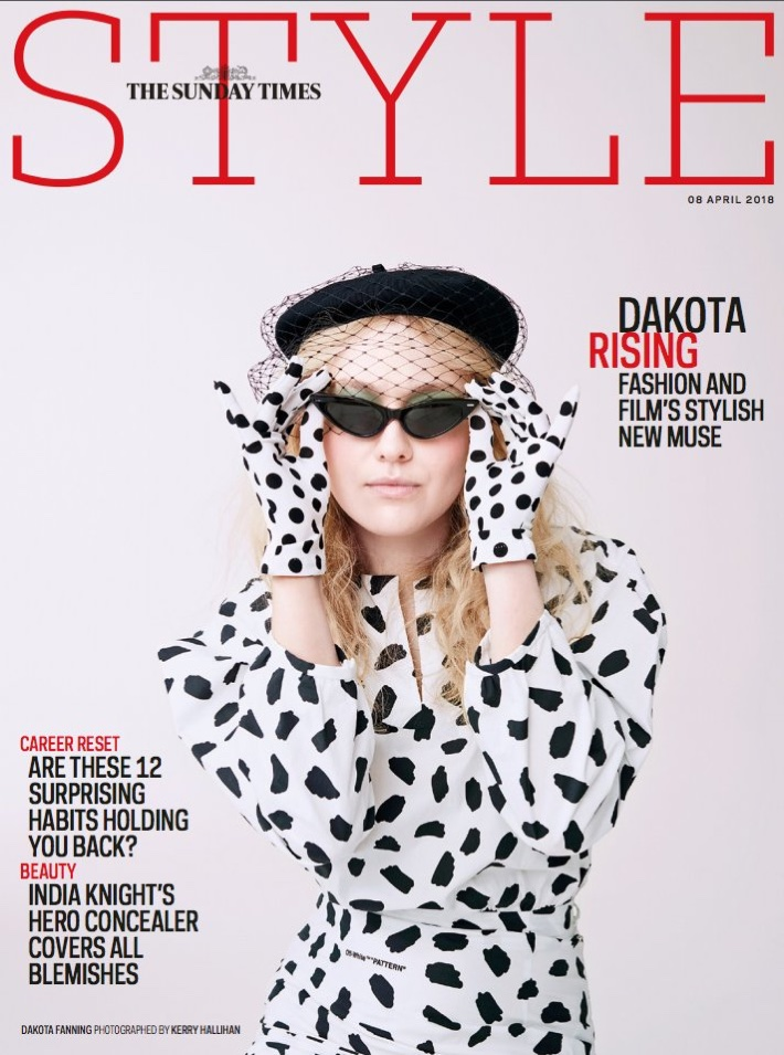 Dakota Fanning Wears Fashion Forward Looks For Sunday Times Style April 2018