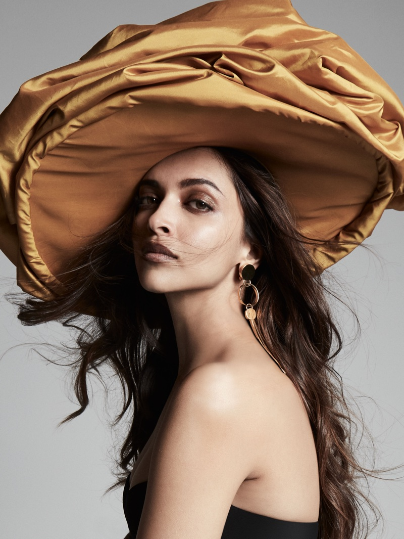 Deepika Padukone wears oversized headpiece