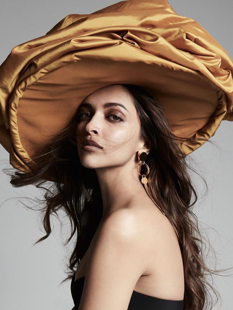 Deepika Padukone wears oversized headpiece