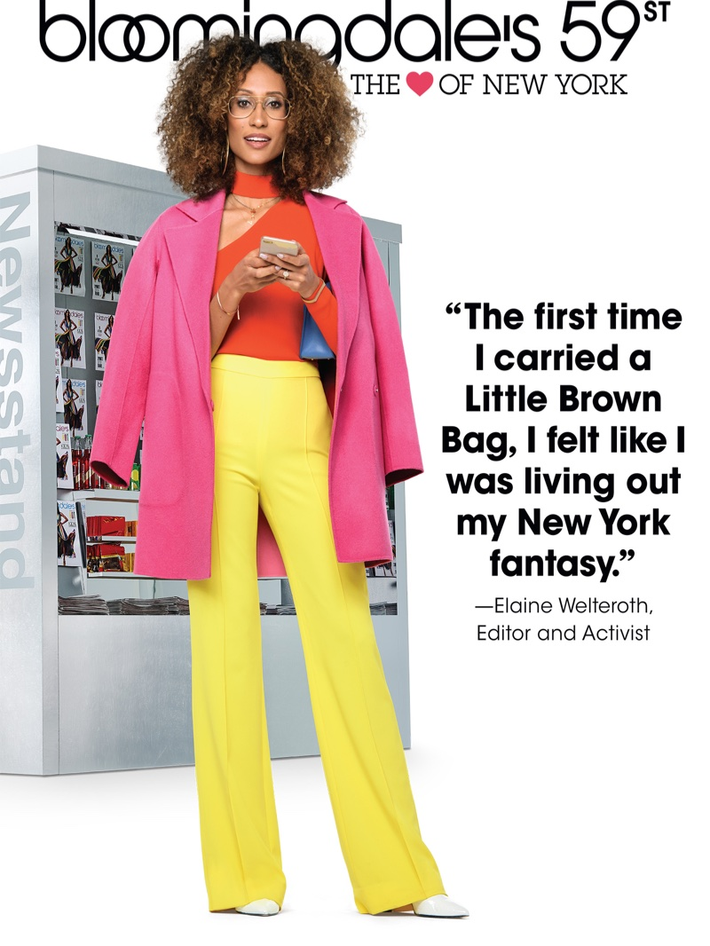 Elaine Welteroth fronts Bloomingdale's Heart of N.Y. campaign