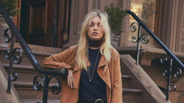 Elsa Hosk Channels 1970's Cool for PORTER Edit