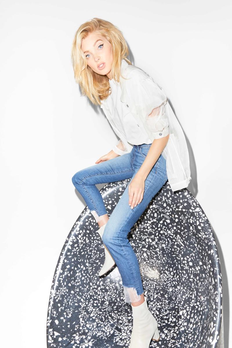 Elsa Hosk fronts J Brand's summer 2018 campaign