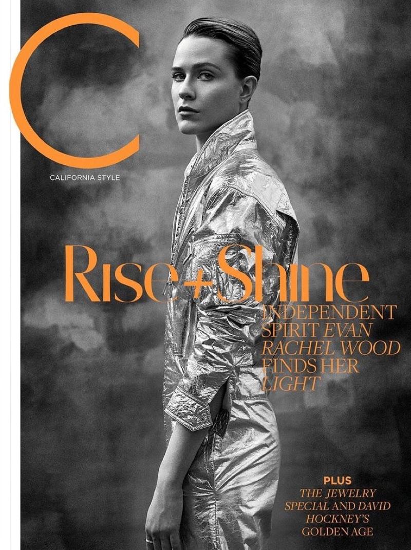 Evan Rachel Wood on C Magazine May 2018 Cover