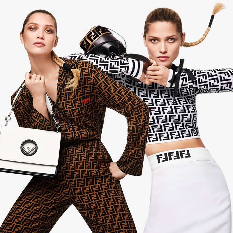 Fendi logo collection at Net-a-Porter