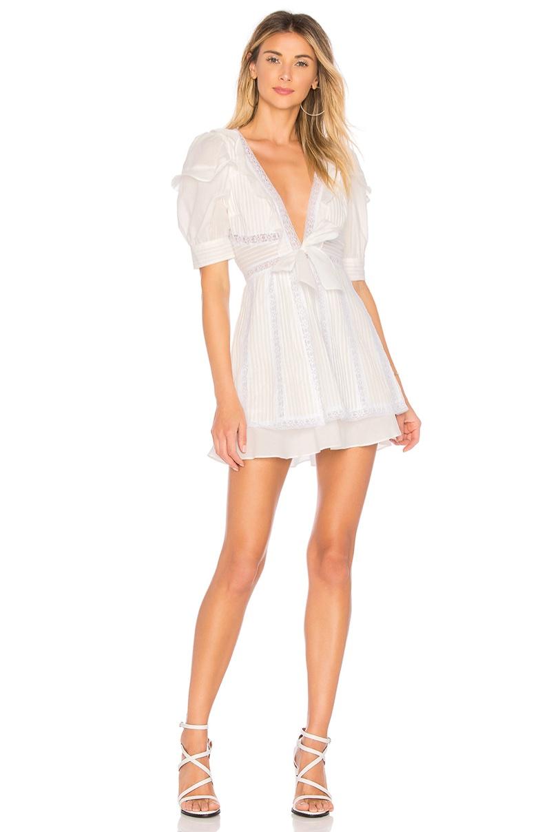 For Love & Lemons x REVOLVE Pintuck Dress $252