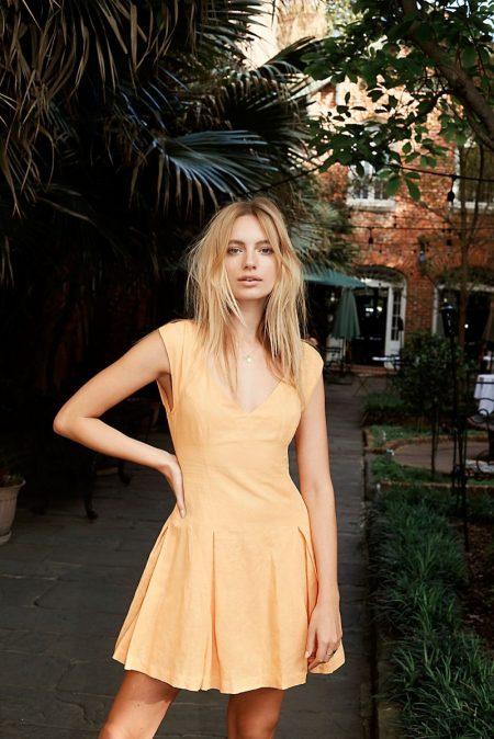 Free People The Paris Story Mini Dress