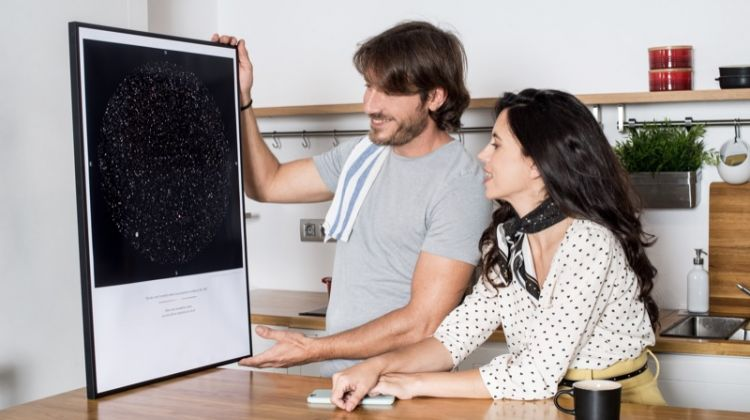 A Customized Star Map as a Gift