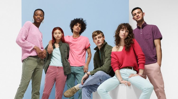 An image from Gap's spring 2018 advertising campaign