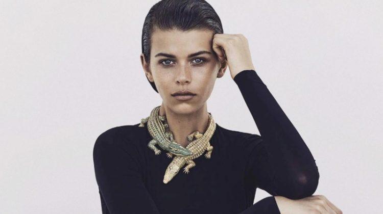 Georgia Fowler Shines in Cartier Gems for Vogue Australia