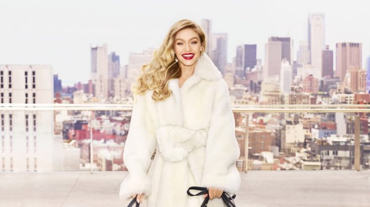 Gigi Hadid Models Luxe Looks for Harper's Bazaar