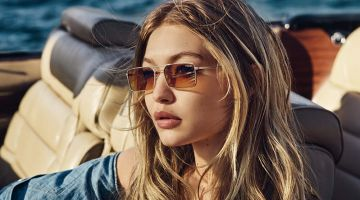 Gigi Hadid Models the Hottest Frames for Vogue Eyewear Campaign