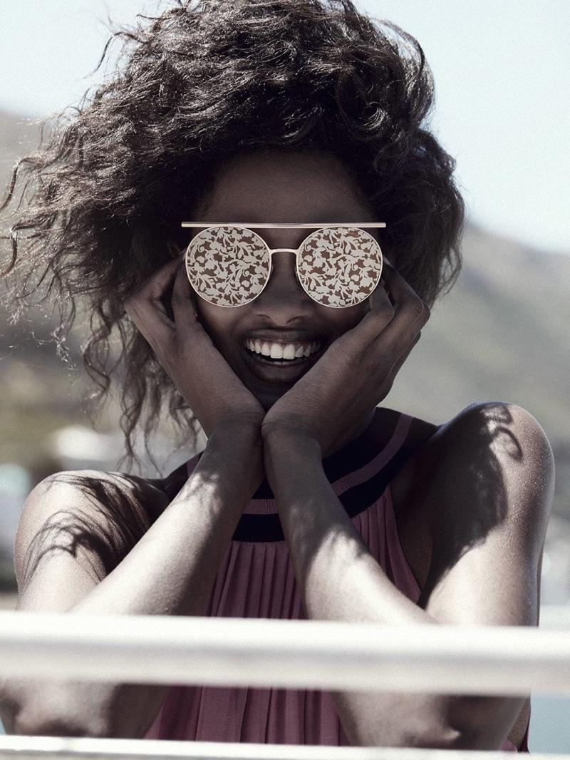 Just In: Giorgio Armani`s Artful Spring 2018 Sunglasses