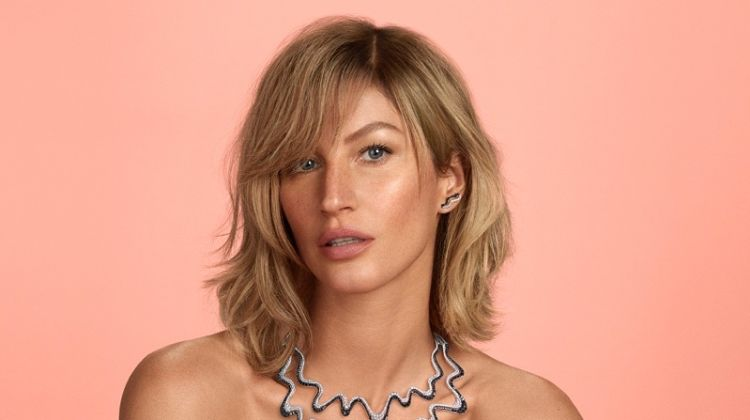 Gisele Bundchen Shows Off a Short Hairstyle for New Campaign