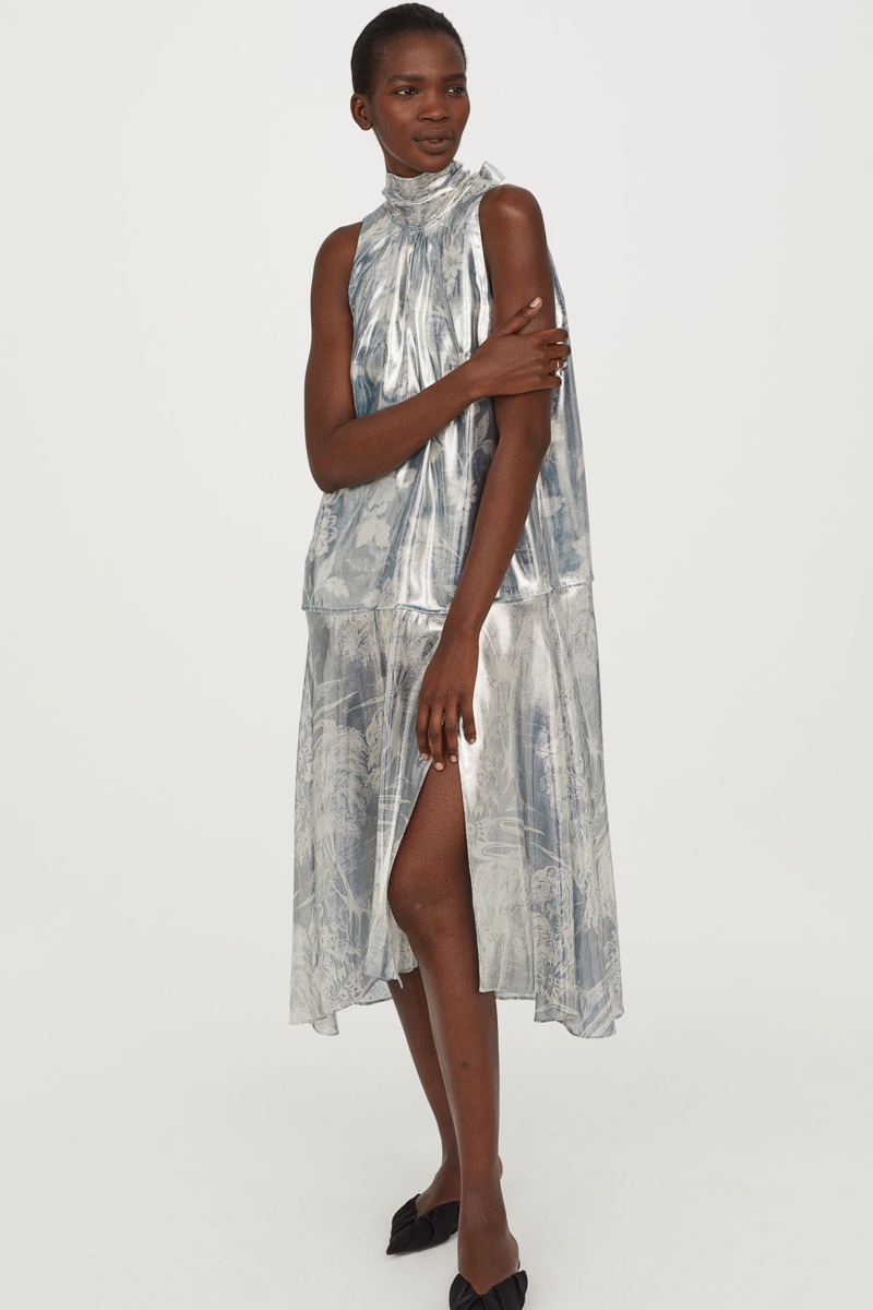 H&M Conscious Exclusive Lyocell Silk Dress $149