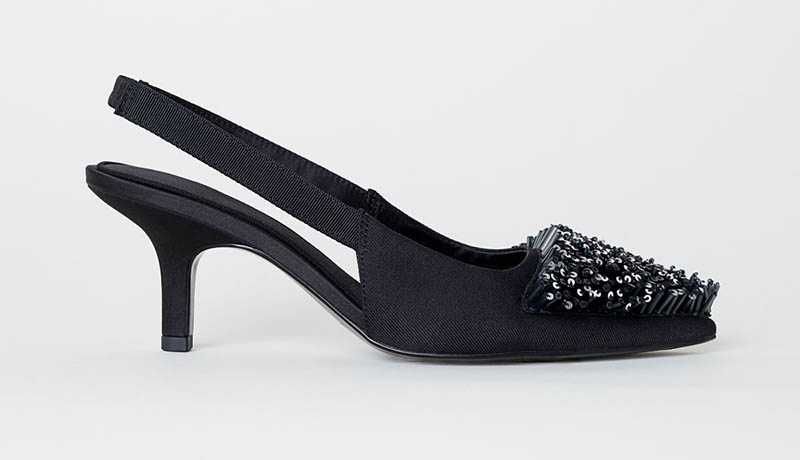 H&M Conscious Exclusive Slingbacks $129