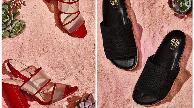 Shoe Gazing: House of Harlow 1960 x RAYE's Glam Sandals