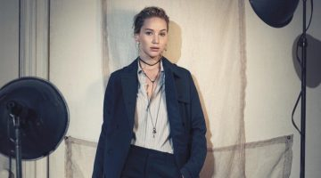 Jennifer Lawrence Looks Effortlessly Luxe in Dior's Pre-Fall 2018 Campaign