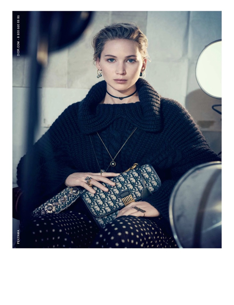 Jennifer Lawrence fronts Dior's pre-fall 2018 campaign