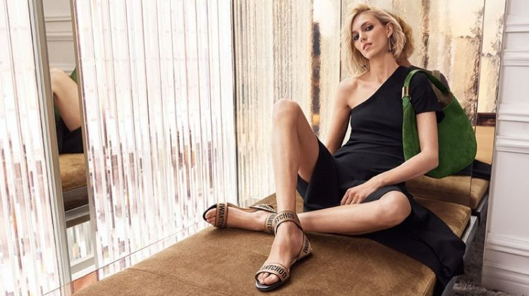 Anja Rubik is Alluring in Jimmy Choo's Pre-Fall 2018 Campaign