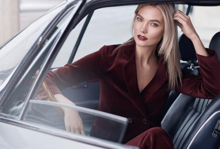 Karlie Kloss stars in Estee Lauder makeup campaign