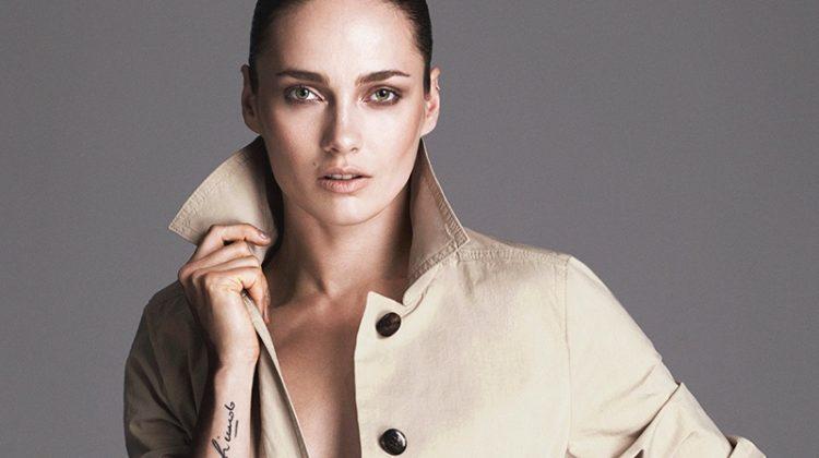 Karmen Pedaru Wears BOSS Fashion for Harper's Bazaar Serbia