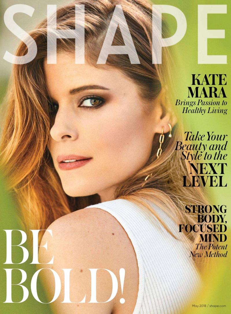 Kate Mara on Shape Magazine May 2018 Cover