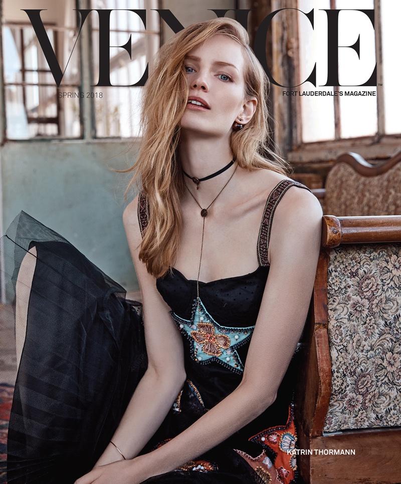 Katrin Thormann Wears 'Light & Airy' Styles for Venice Magazine