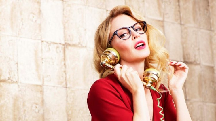 Kylie Minogue stars in Specsavers 2018 campaign