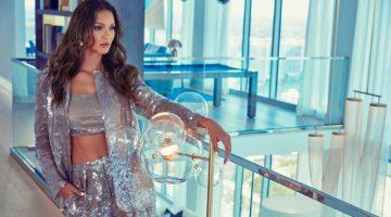 Lais Ribeiro Turns Up the Shine Factor for Alexa Magazine