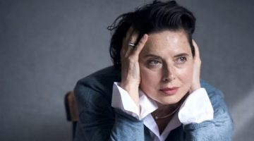 Actress Isabella Rossellini, 65, for Lancome