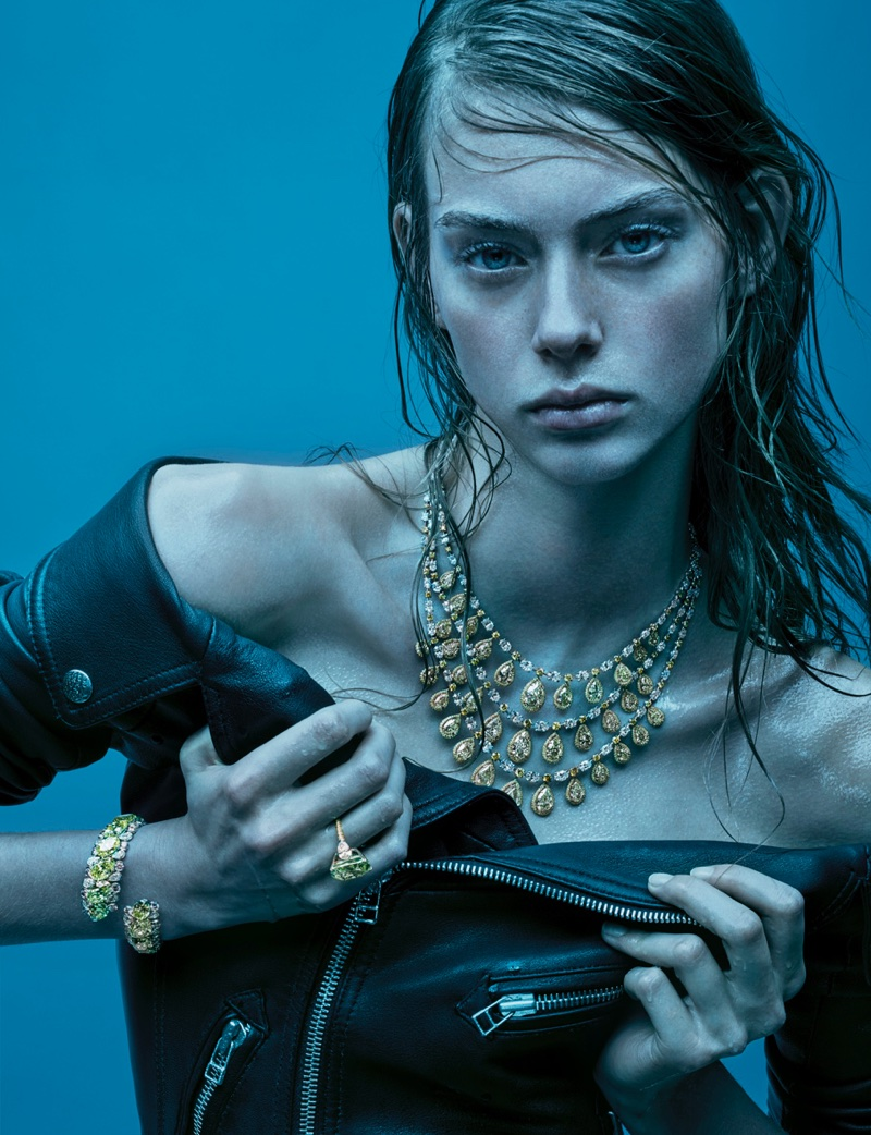 Lauren de Graaf is A Snake Charmer for Citizen K International