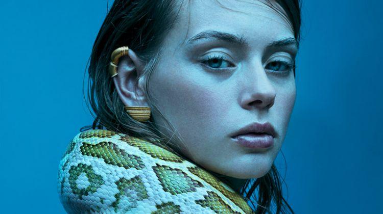 Lauren de Graaf is A Snake Charmer for Citizen K International