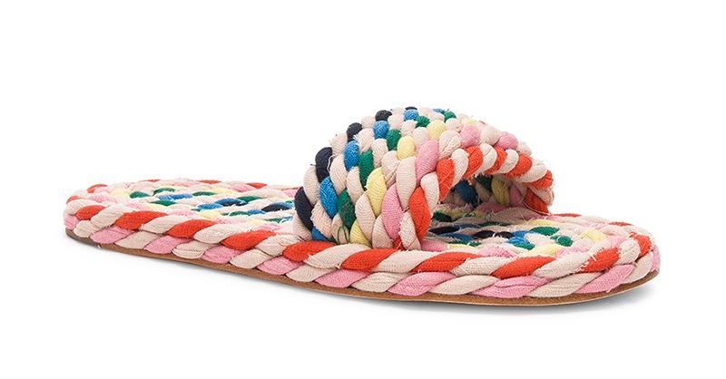 Loeffler Randall Woven Slide Sandal $295