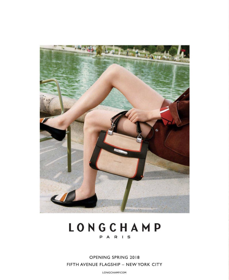 Longchamp focuses on handbags for its spring-summer 2018 campaign