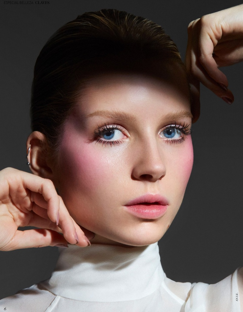 Lottie Moss Models Glam Makeup Trends for Vogue Mexico