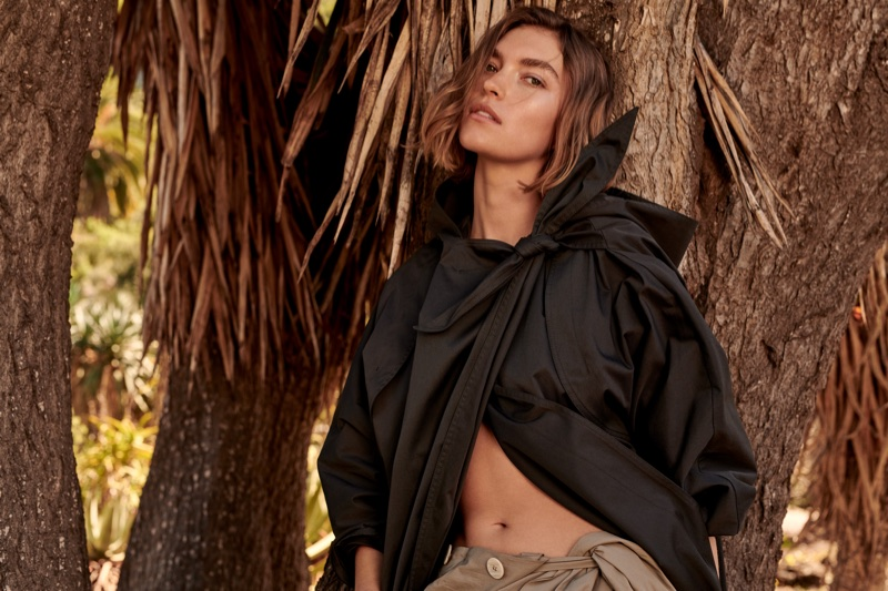 Arizona Muse stars in Mango Committed's spring-summer 2018 campaign