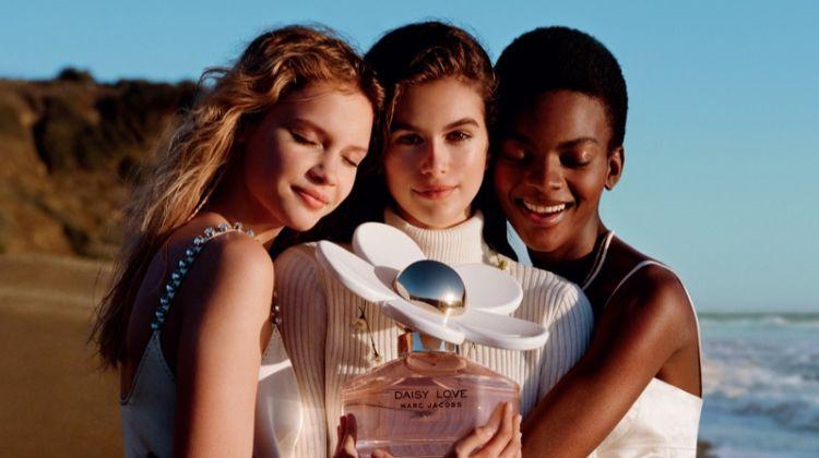 Kaia Gerber Hits the Beach for Marc Jacobs 'Daisy Love' Fragrance Campaign