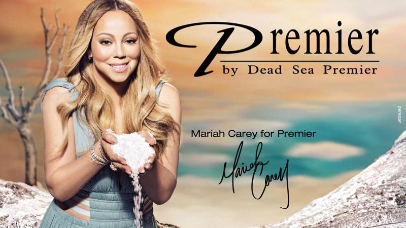 Mariah Carey for Premier Dead Sea
