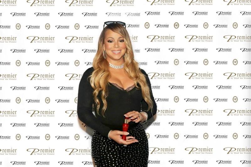 Singer Mariah Carey at Premier Dead Sea event