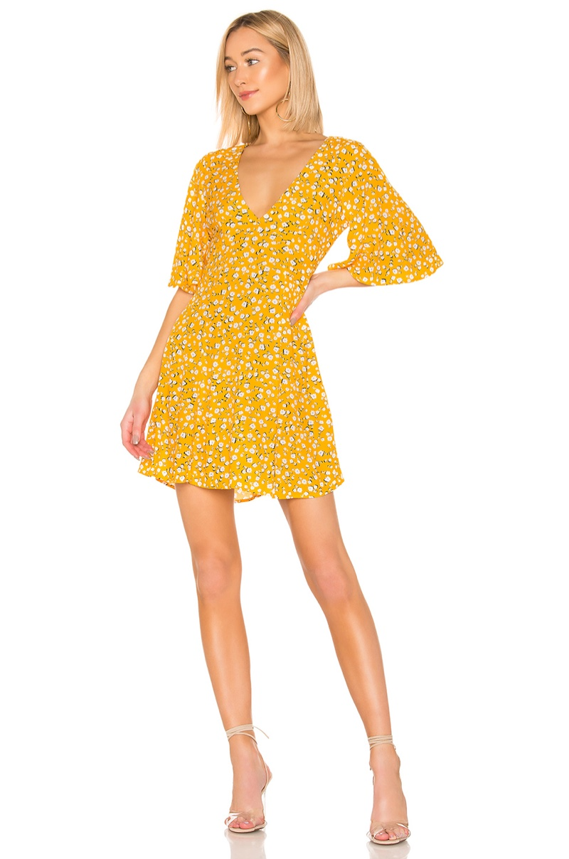 Minkpink Summer Daisy Tea Dress $89