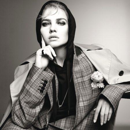 Natalia Vodianova Captivates for Vogue Poland Cover Story