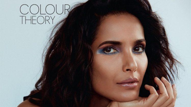 Padma Lakshmi Enchants in MAC Makeup for ELLE India