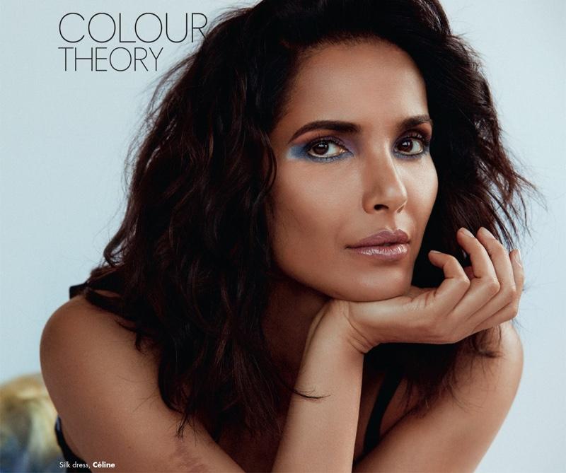 f259e778a0a Padma Lakshmi Enchants in MAC Makeup for ELLE India