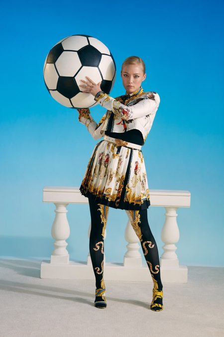 Pom Klementieff Takes On the Spring Collections for Barneys