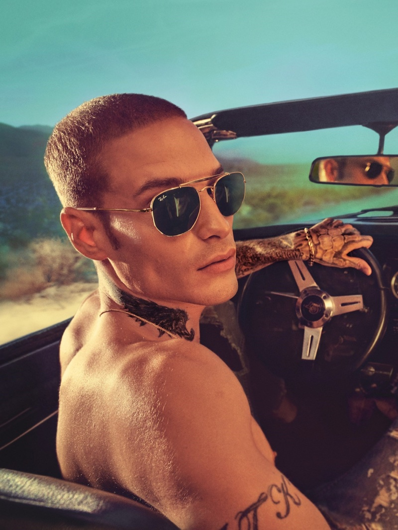 Steven Klein photographs Ray-Ban 2018 'Destination Everywhere' campaign