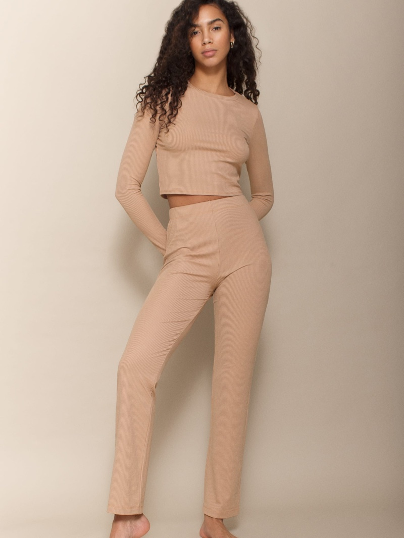 Reformation Hailey Two Piece in Sand $128